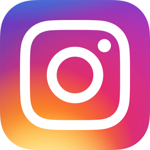 Instagram-Button: Find us on Instagram. Picture links to the Instagram site of the International Center.