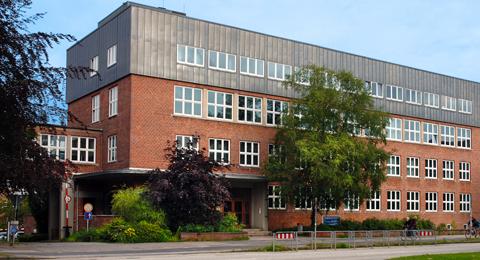 The picture shows the Institute for Business Administration; Photo: Jürgen Haacks / Uni Kiel