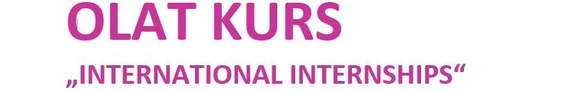 Olat course on internship abroad
