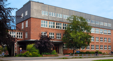 The picture shows the Institute for Business Administration; Photo: Jürgen Haacks / Uni Kiel