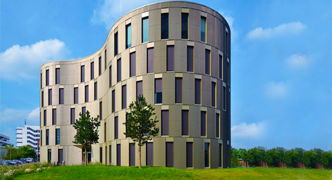 The picture shows the Center for Molecular Biosciences  (ZMB), Foto: Jürgen Haacks / Uni Kiel