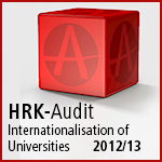 Certificate HRK-Audit Internationalisation of Universities 201/13